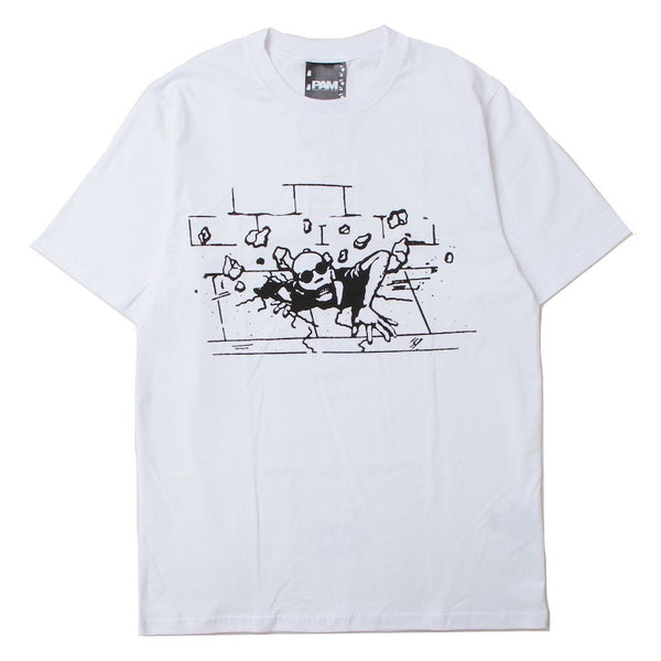 RISE UP SS TEE (WHT)