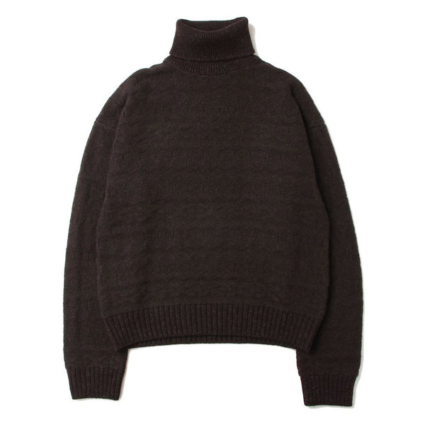 turtleneck fair isle sweater (CHL)
