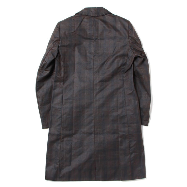 COAT WITH 3 POCKETS AND BRASS BUTTON (SCSS21CO1) Dark Brown/Dark Green