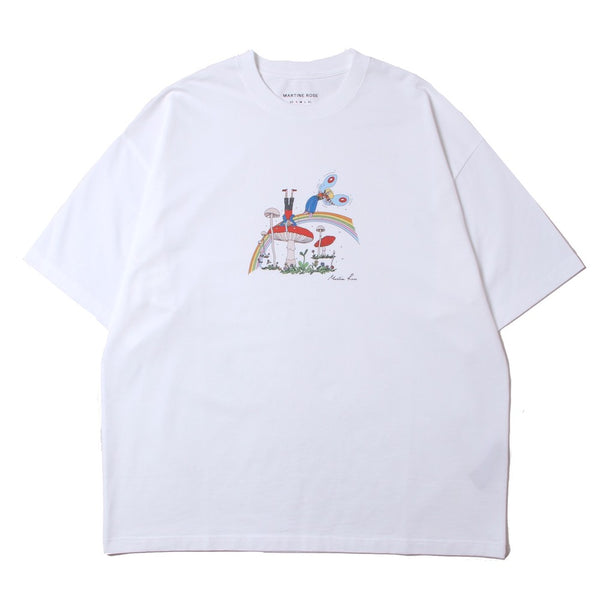 BRITTLE T-SHIRT (MR621F-MR1CA) WHITE CARTOON