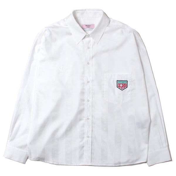 DUEL L/S SHIRT (MR428I-MR001) WHITE