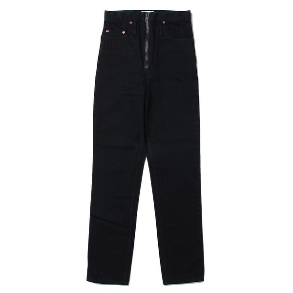 1% STRETCH SLIM LEG RUMBLE JEANS (BLK)