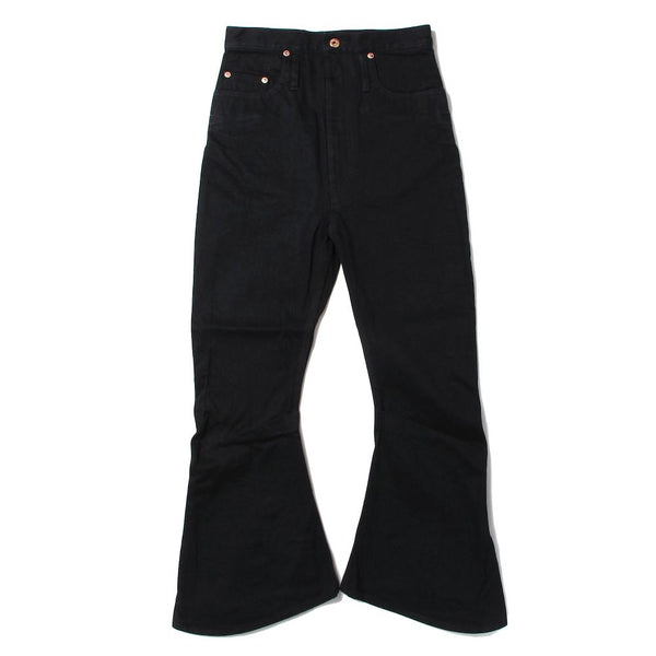 SHORT 3D BOOT CUT JEANS (P-005X-E) Black
