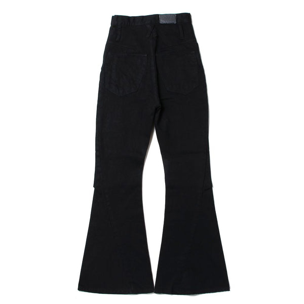 LONG 3D BOOT CUT JEANS (P-010-A) Black