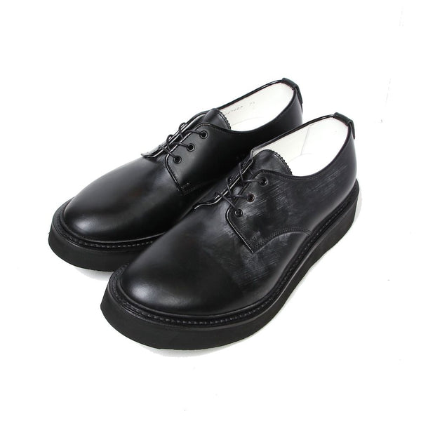 Bridle Leather Plain Toe Shoes (BLK)