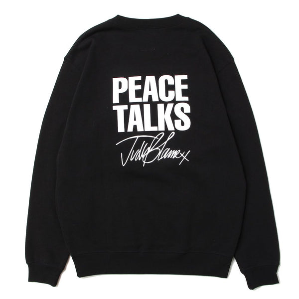 PEACE TALKS FAKE FURRY CREW (BLK)