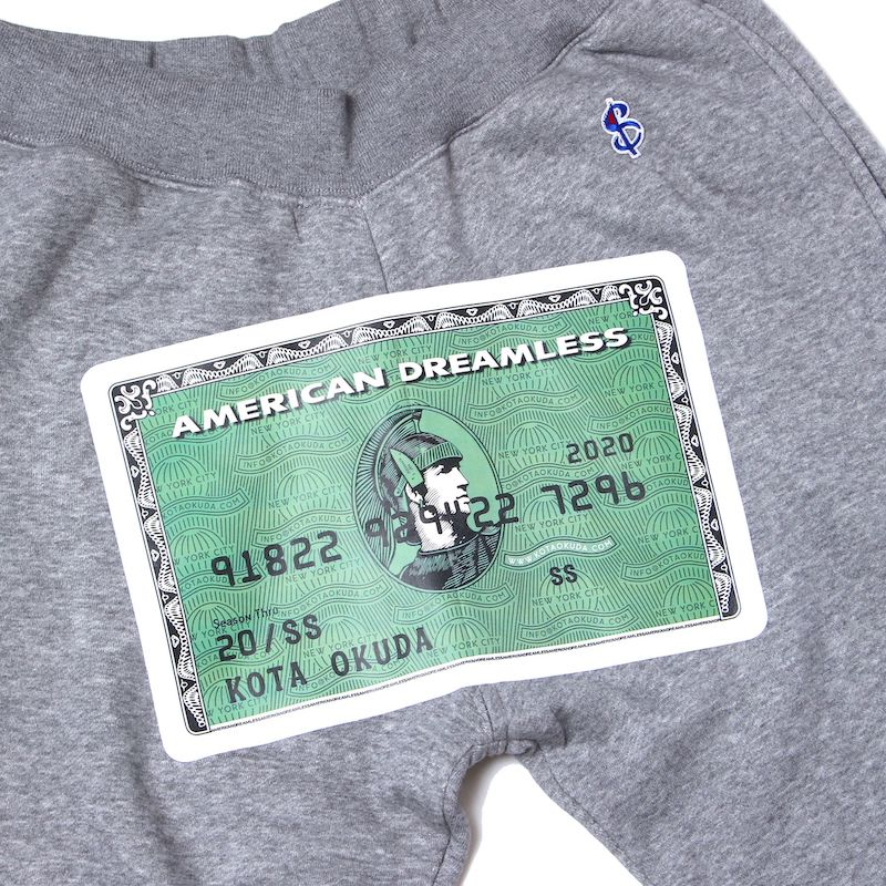 EX AMERICAN DREAMLESS SWEAT PT (GRY)