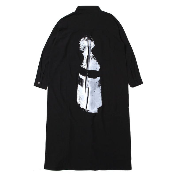 ANARCHY LONG DRESS SHIRT (BLK)
