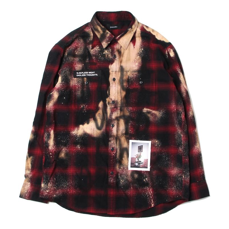 ANARCHY CHECK SHIRTS (RED)