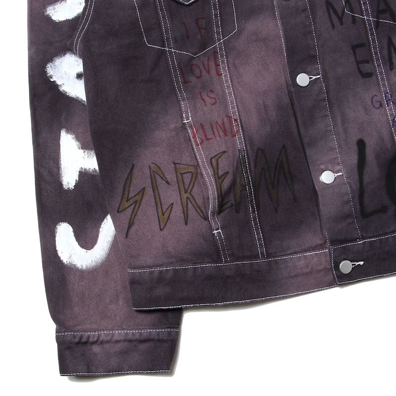 Hand Painted Custom Denim Jacket