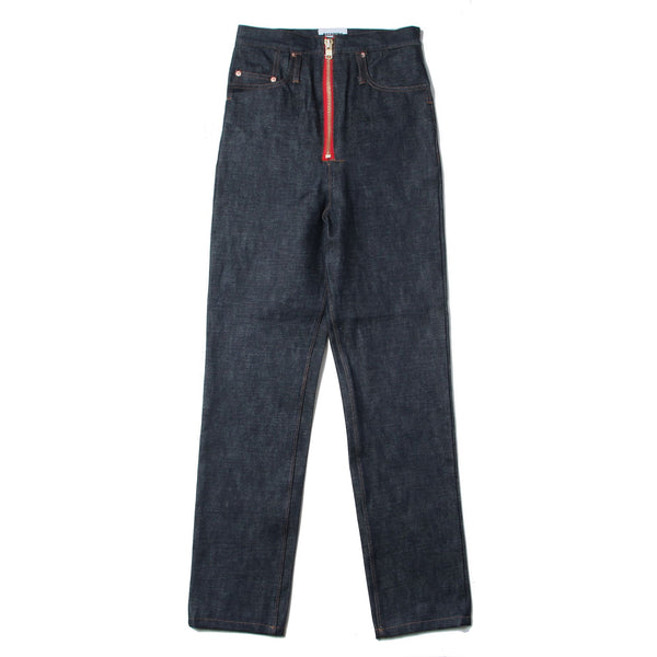 SELVEDGE DENIM SLIM LEG RUMBLE JEANS (IDG)