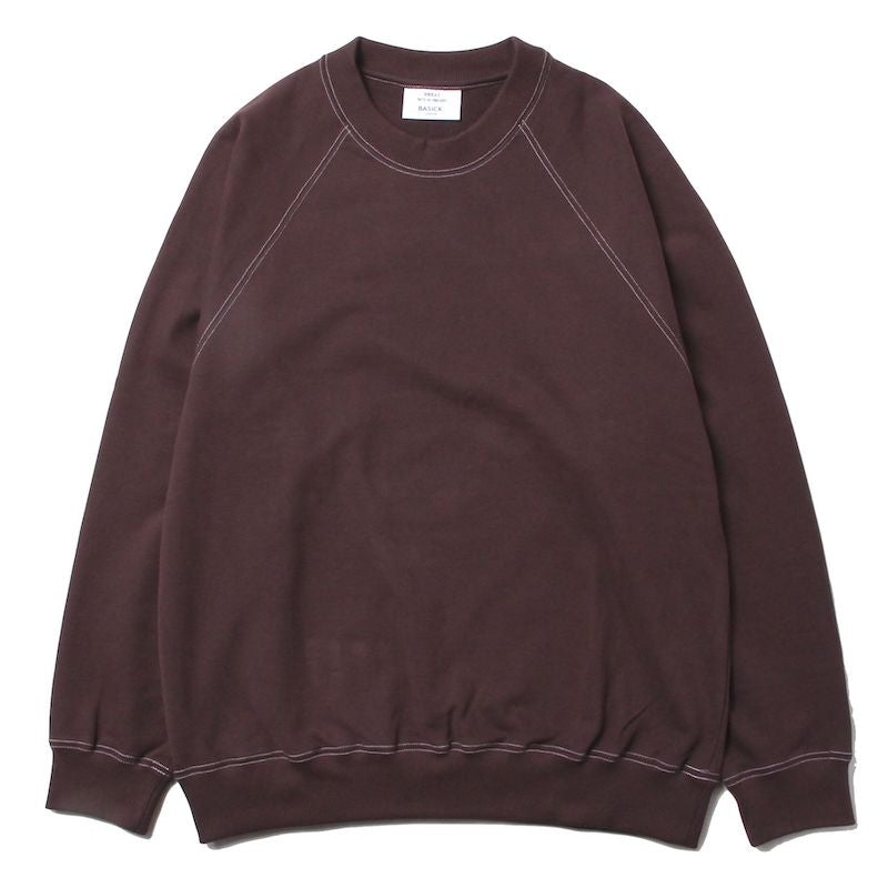 MOHAIR BLOCK COLOR LOOSE KNIT (BLU)