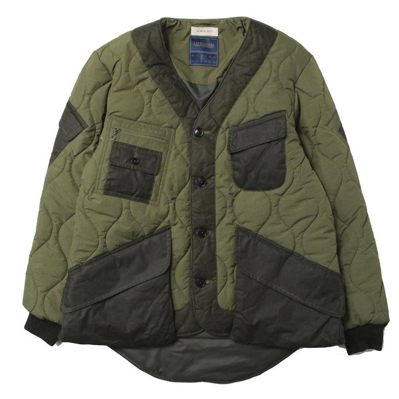 × LAVENHAM ENGINEERS JACKET (OLV)