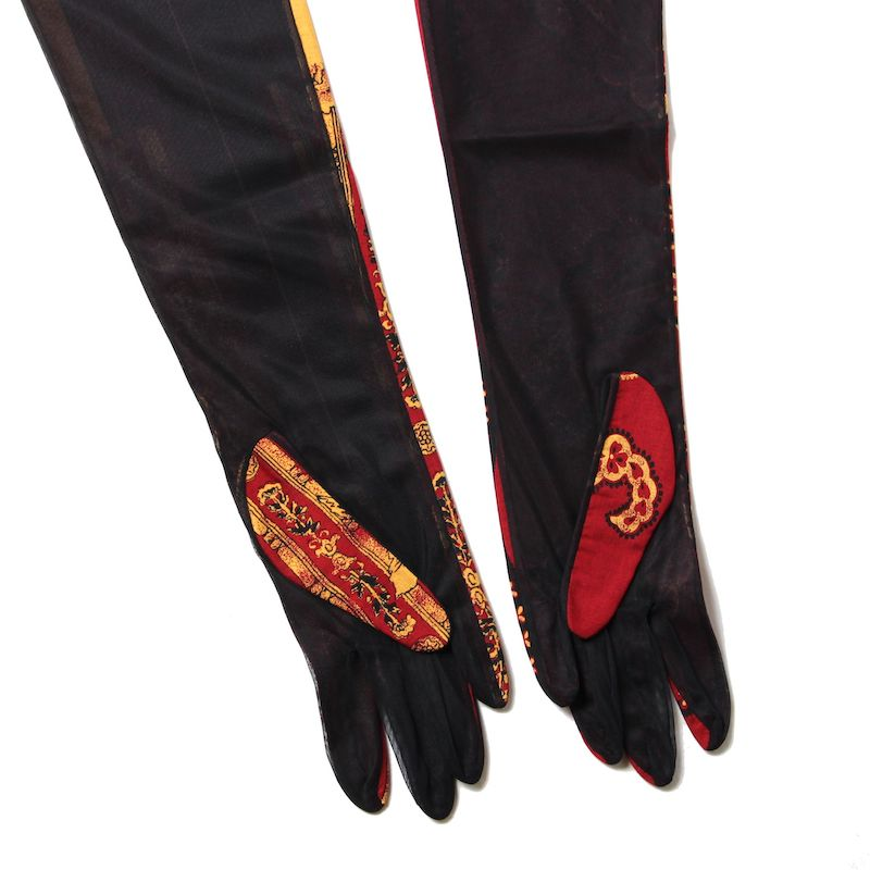 Sylvia Long Glove (RED)