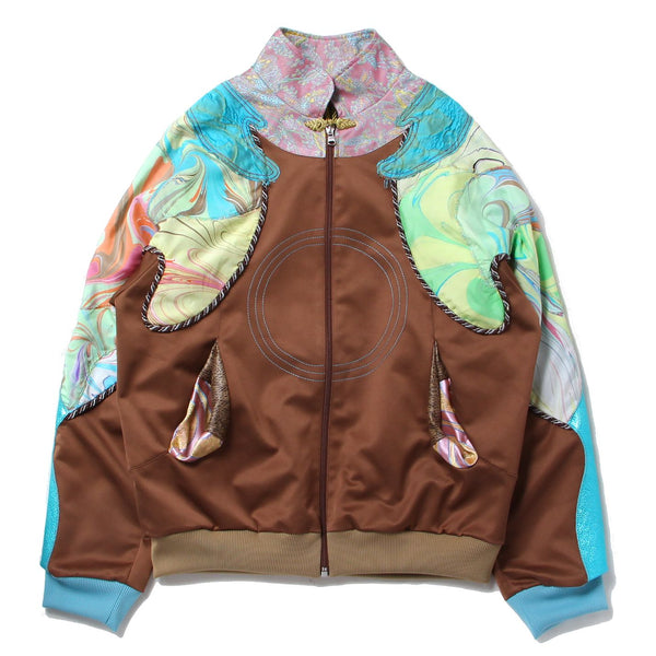JACKET (BRW/MLT)
