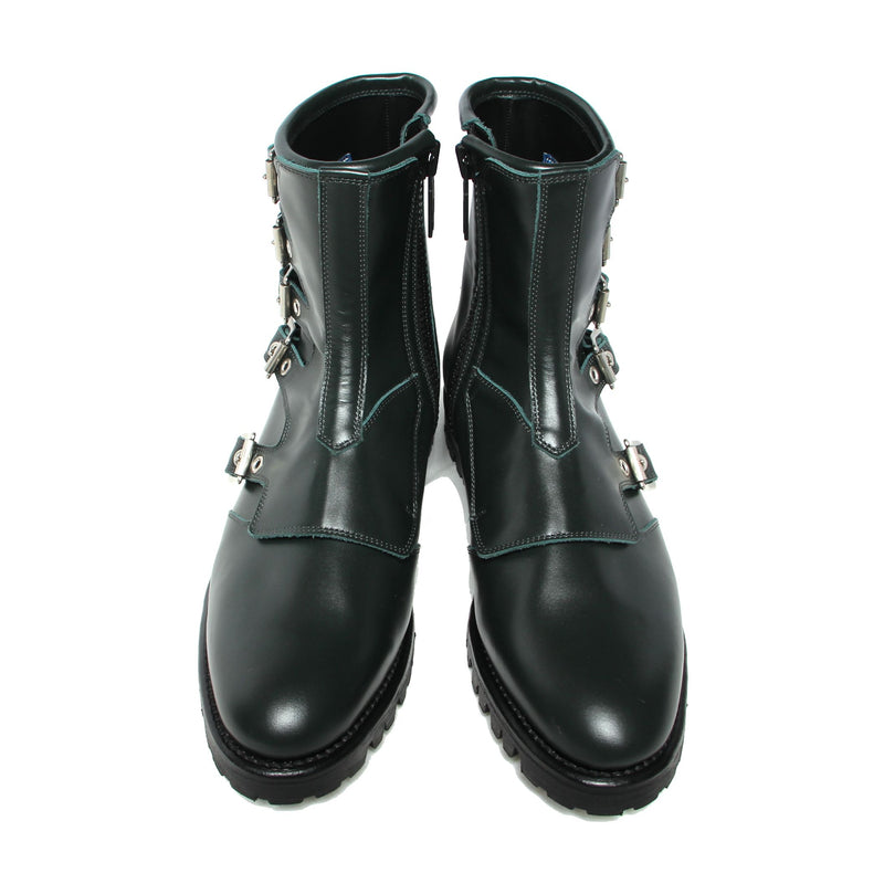 Monk Strap Short Boots (GRN)