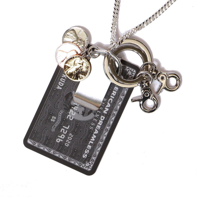 MONEY CLIP NECKLACE (SIL)