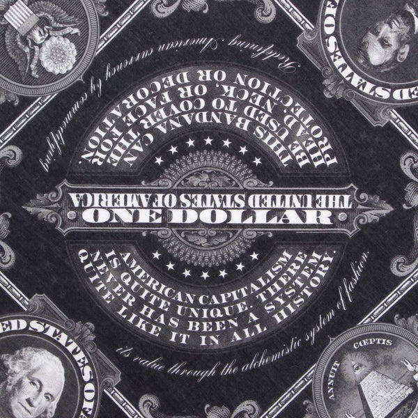 MONEY BANDANA (BLK)