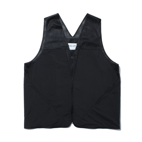 Nylon Vest Bag - Black