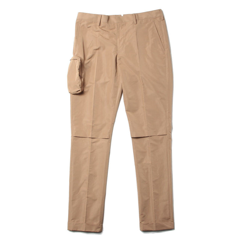 Knee Slit Nylon W Slacks (BGE)