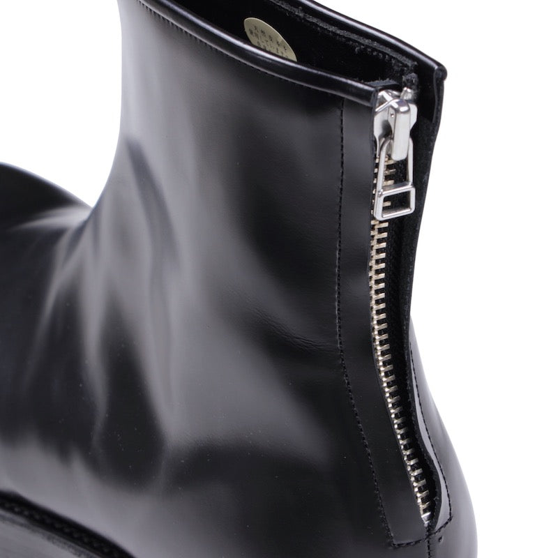 Exclusive Back Zip Boots (BLK)