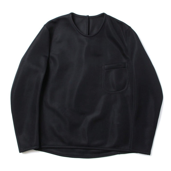 jerseyknit pull over (BLK)