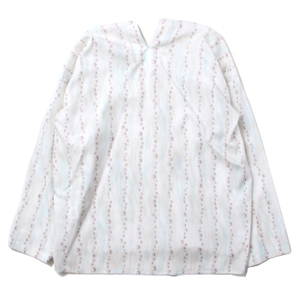 long pull over shirt (WHT)
