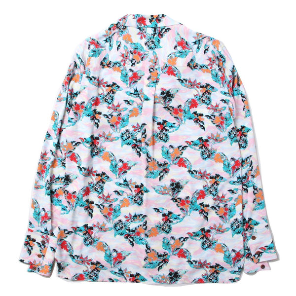 long sleeve ALOHA shirt (PNK)