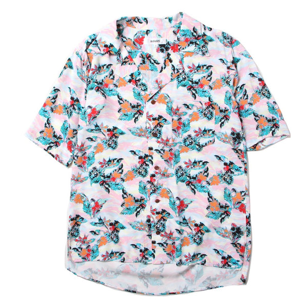 short sleeve ALOHA shirt (PNK)