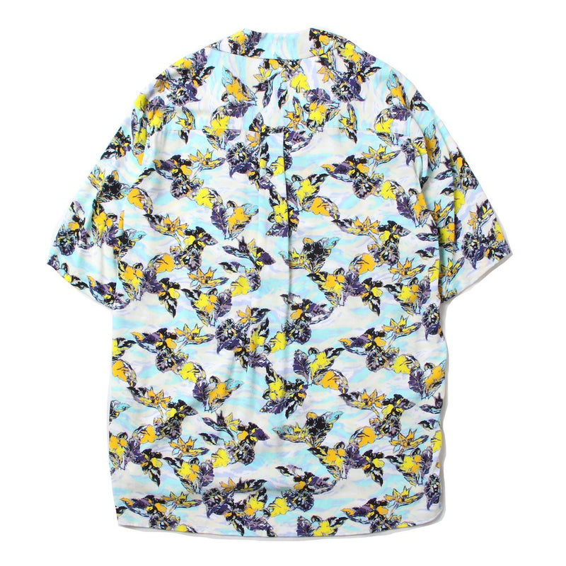 short sleeve ALOHA shirt (SAX)