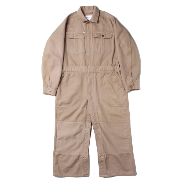 SILK CHINO JUMPSUITS COAT (BGE)