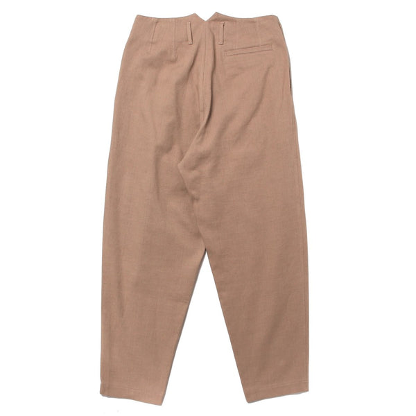 TWO PLEAT TROUSERS (ND-SS21-TPT1-C-SBE) Beige