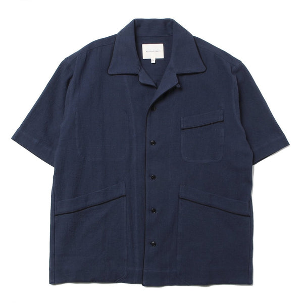 BEACH SHIRT (ND-SS21-BS4-C-NY) Navy