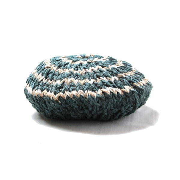 HAND KNITTED BERET (KHK)