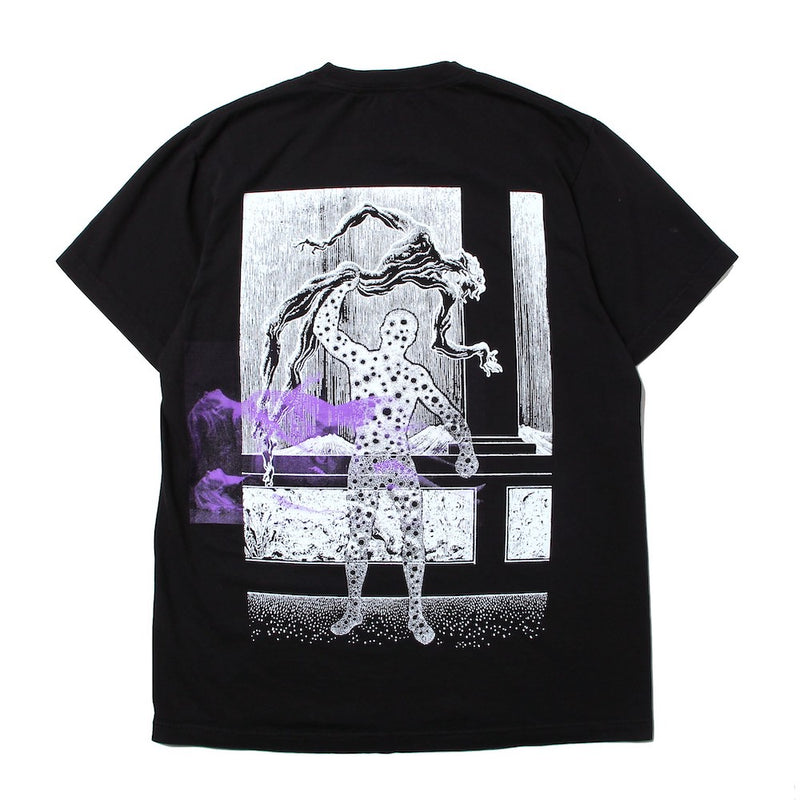 POZ MEZ COLLECTIVE DREAMING SS TEE (1428/F) BLACK