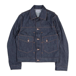 SELVEDGE COTTON DENIM TYPE Ⅱ JEAN JACKET (IDG)