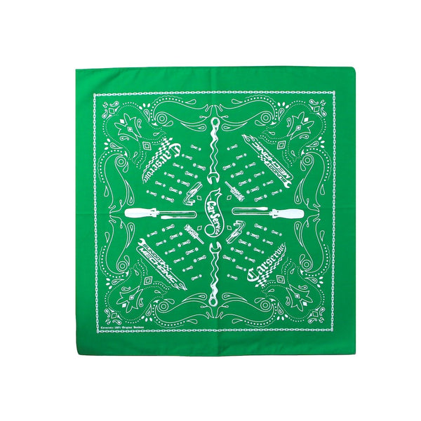 SUNDAY MECHANIC Bandanna (CS-21SS-ACC03) Green