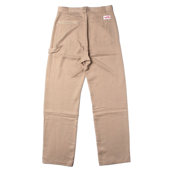 Checker Logo Work Pants (CS-21SS-PNT01) Beige