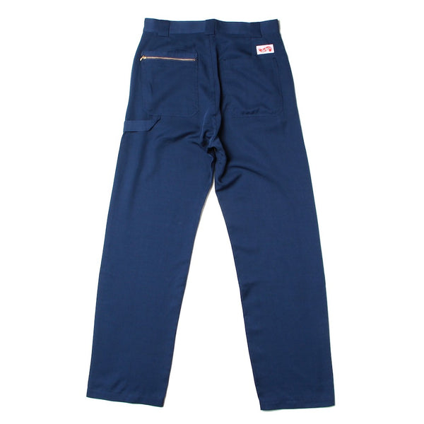 Checker Logo Work Pants (CS-21SS-PNT01) Navy