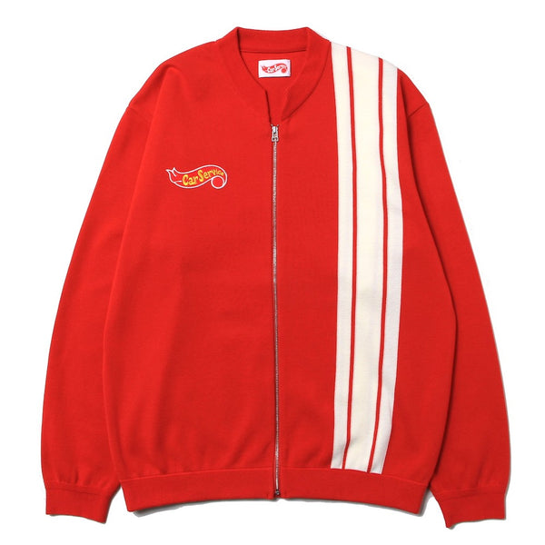 Racing Knit Jacket (CS-21SS-JKT02) Red