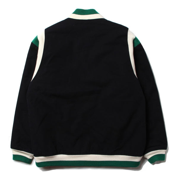 8DAYS A WEEK - MASTERPIECE / Wool Stadium Jacket (BLK)