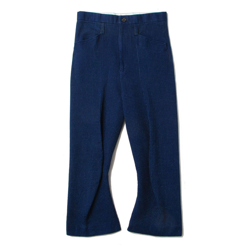 WAFFLE TAILORED SHAPED TROUSERS (IDG)