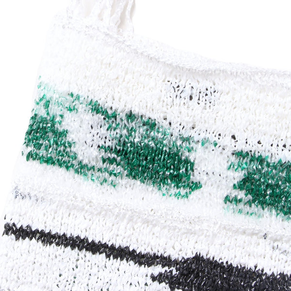 Hand Knit Plastic Bag