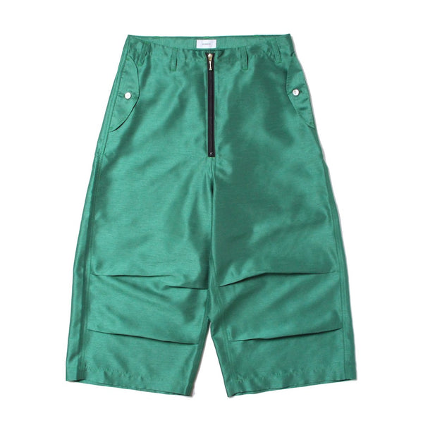 POULTY FEAR WIDE PANTS (PT-01) Green