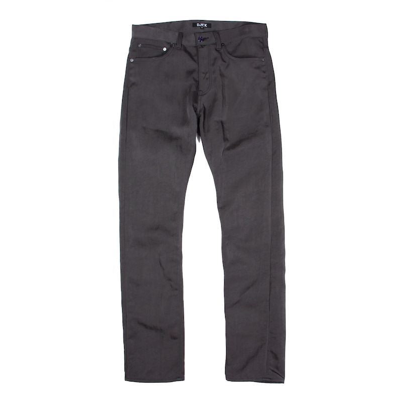 WRINKLE SHINY TROUSERS (GRY)