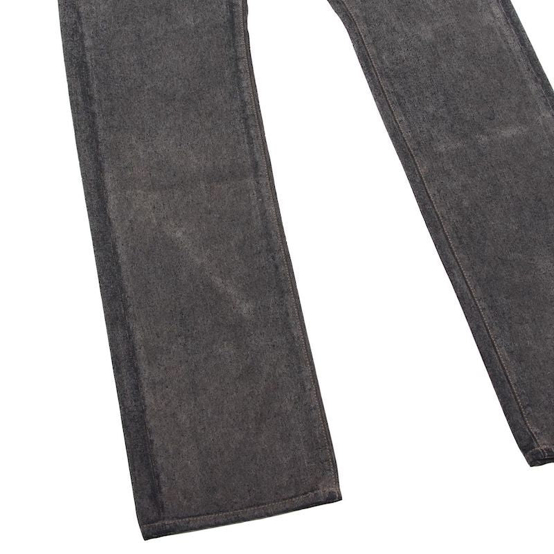 FLOACKING DENIM TROUSERS (GRY)