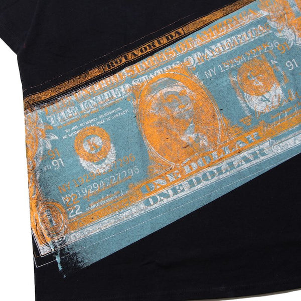 ×RINO TAGUCHI SHORT SLEEVE WITH BANKNOTE (BLK)②