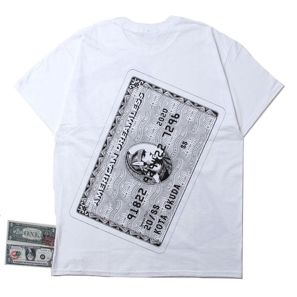 ×RINO TAGUCHI SHORT SLEEVE WITH BANKNOTE - AMEX