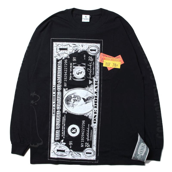 ×RINO TAGUCHI LONG SLEEVE WITH BIG PRINT (BLK/L)