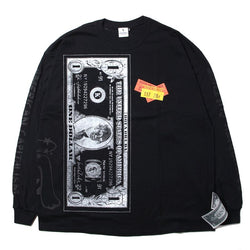 ×RINO TAGUCHI LONG SLEEVE WITH BIG PRINT (BLK/XXL)